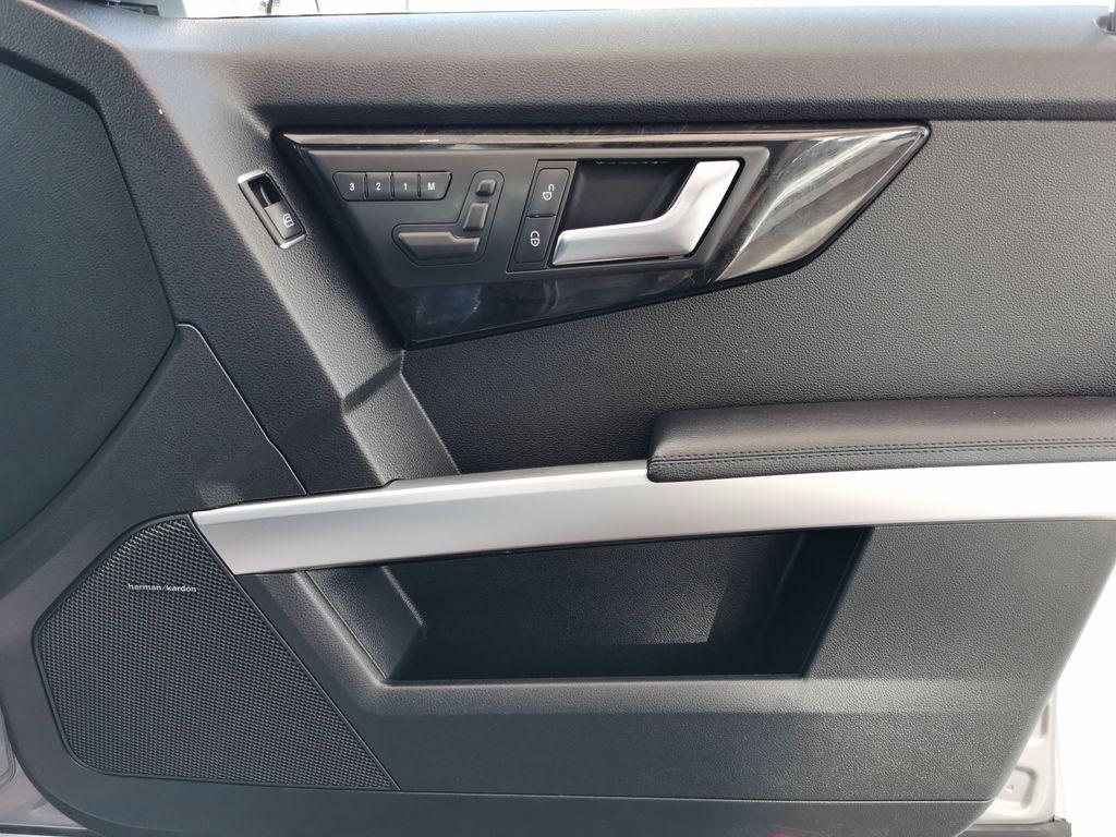 Silver[Palladium Silver Metallic] 2012 Mercedes-Benz GLK-Class Right Front Interior Door Panel Photo in Edmonton AB