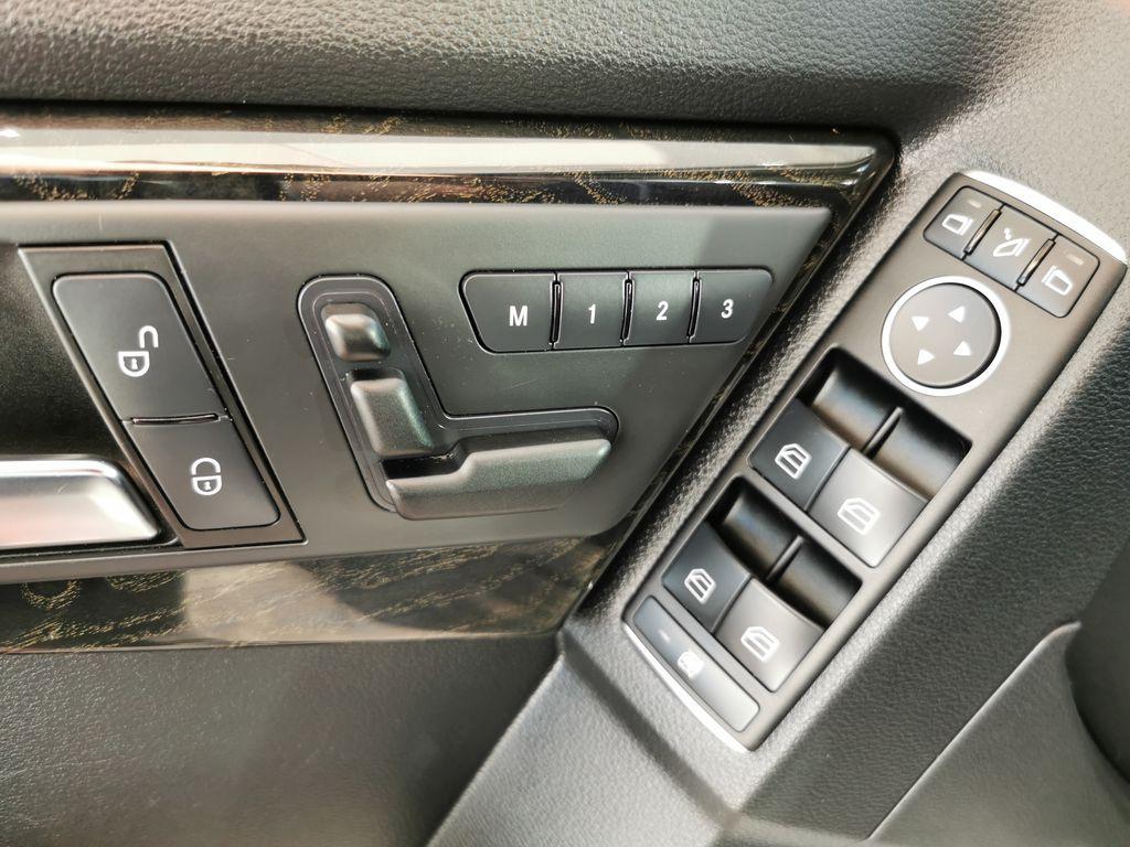 Silver[Palladium Silver Metallic] 2012 Mercedes-Benz GLK-Class  Driver's Side Door Controls Photo in Edmonton AB