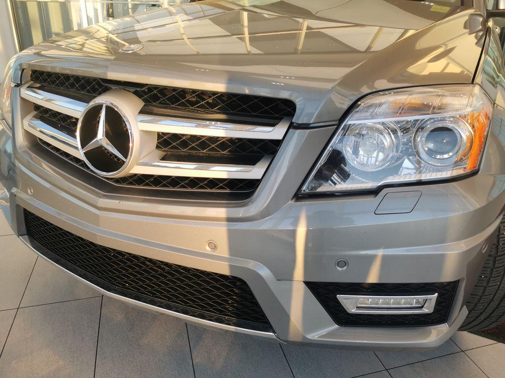 Silver[Palladium Silver Metallic] 2012 Mercedes-Benz GLK-Class Left Front Head Light / Bumper and Grill in Edmonton AB
