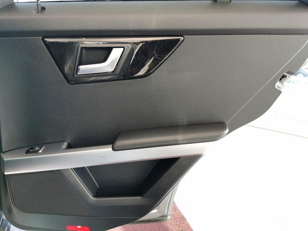Silver[Palladium Silver Metallic] 2012 Mercedes-Benz GLK-Class Right Rear Interior Door Panel Photo in Edmonton AB