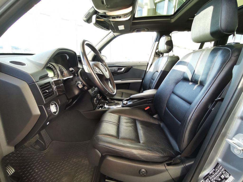Silver[Palladium Silver Metallic] 2012 Mercedes-Benz GLK-Class Left Front Interior Photo in Edmonton AB