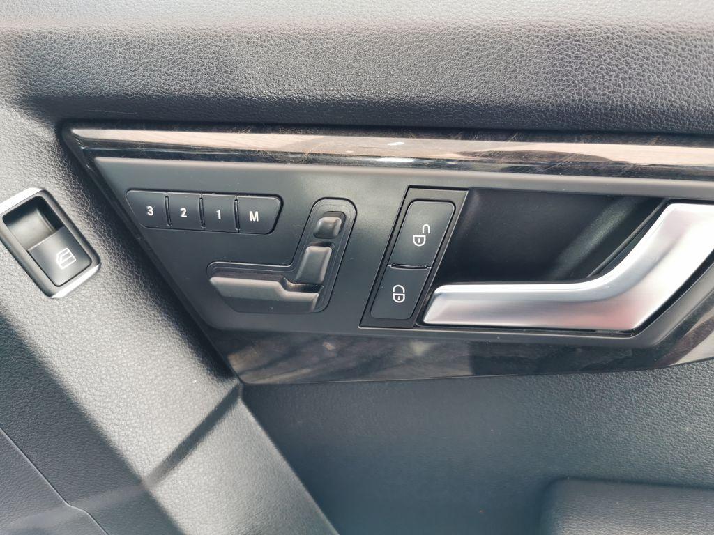 Silver[Palladium Silver Metallic] 2012 Mercedes-Benz GLK-Class Passenger Front Door Controls Photo in Edmonton AB