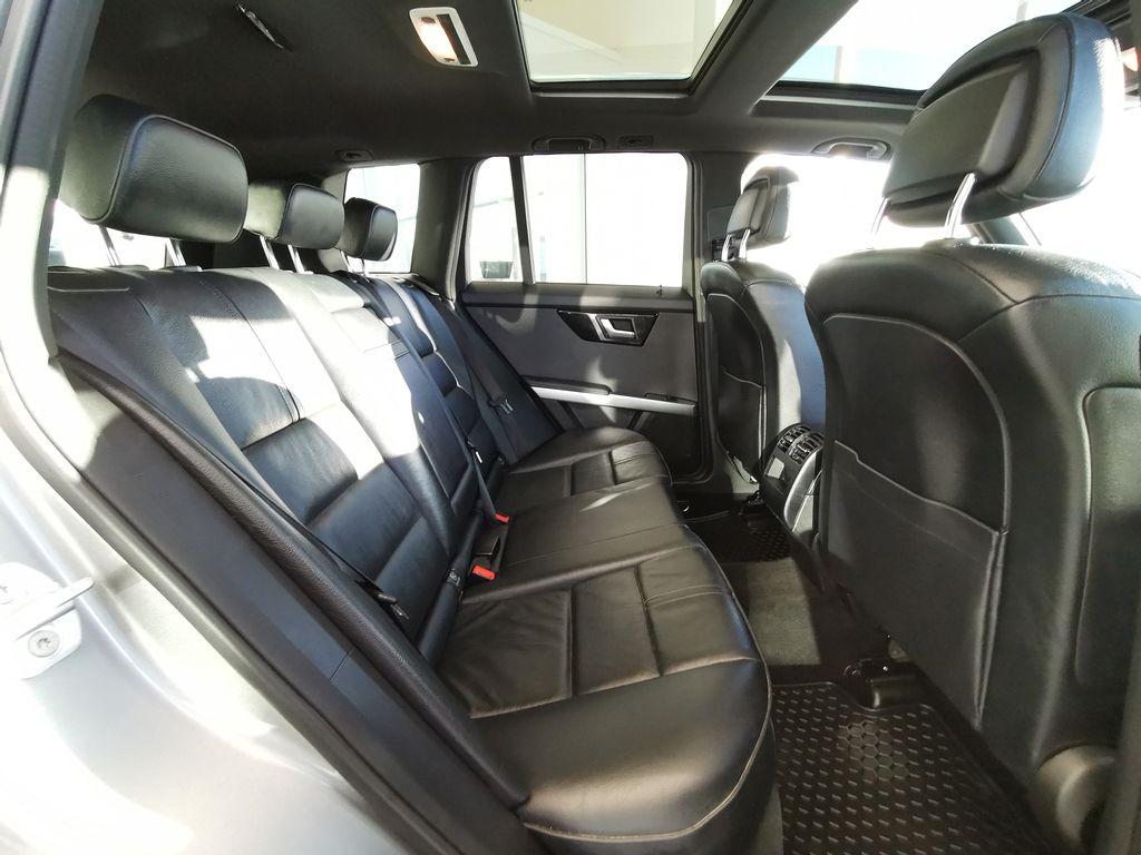 Silver[Palladium Silver Metallic] 2012 Mercedes-Benz GLK-Class Right Side Rear Seat  Photo in Edmonton AB