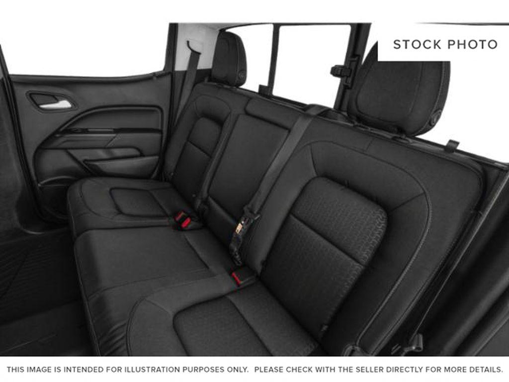 Onyx Black 2022 GMC Canyon Left Side Rear Seat  Photo in Oshawa ON