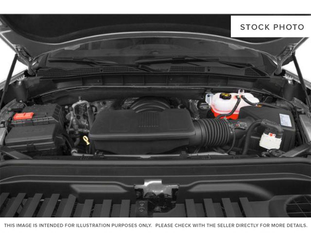 Dark Sky Metallic 2021 GMC Sierra 1500 Engine Compartment Photo in Oshawa ON