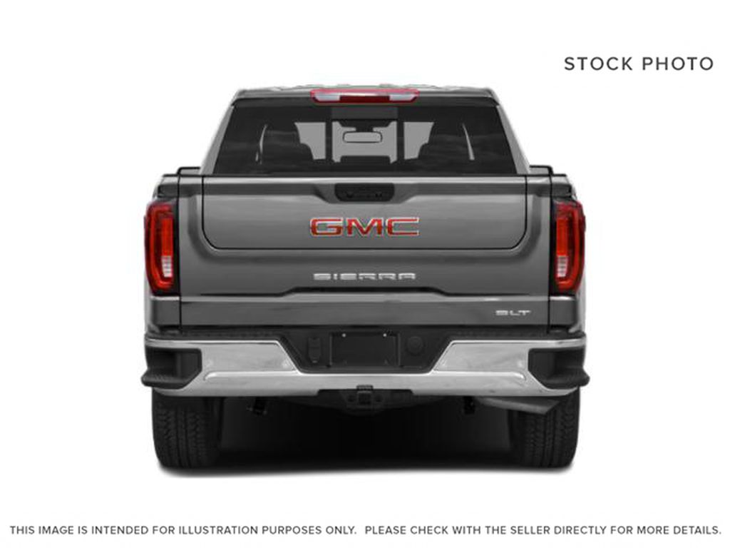 Dark Sky Metallic 2021 GMC Sierra 1500 Rear of Vehicle Photo in Oshawa ON