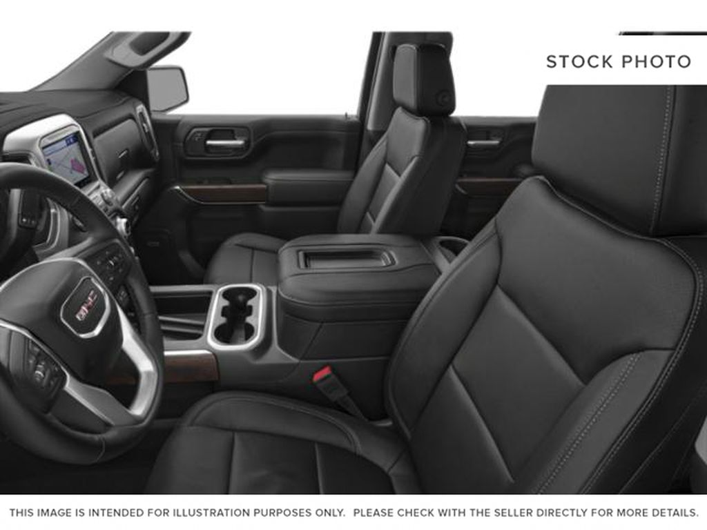 Dark Sky Metallic 2021 GMC Sierra 1500 Left Front Interior Photo in Oshawa ON