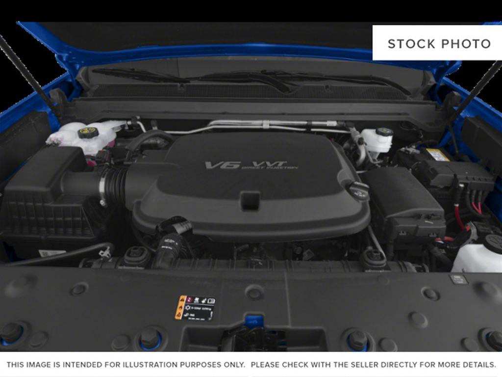 Dynamic Blue Metallic 2022 GMC Canyon Engine Compartment Photo in Oshawa ON