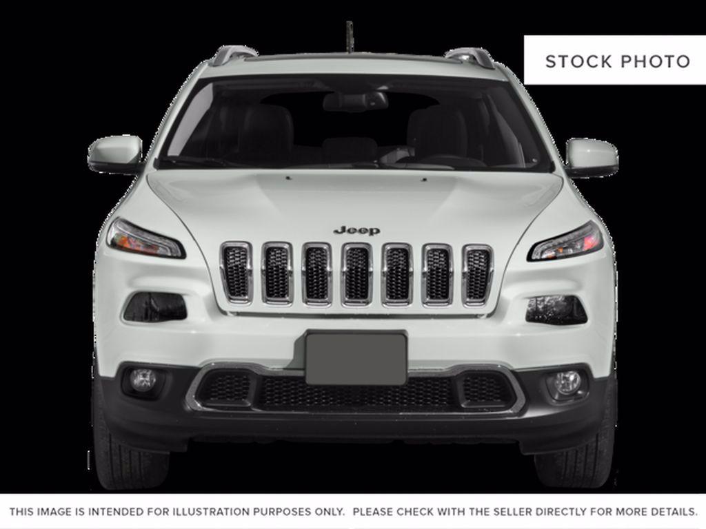 Silver[Billet Metallic] 2015 Jeep Cherokee Left Front Interior Door Panel Photo in Brandon MB