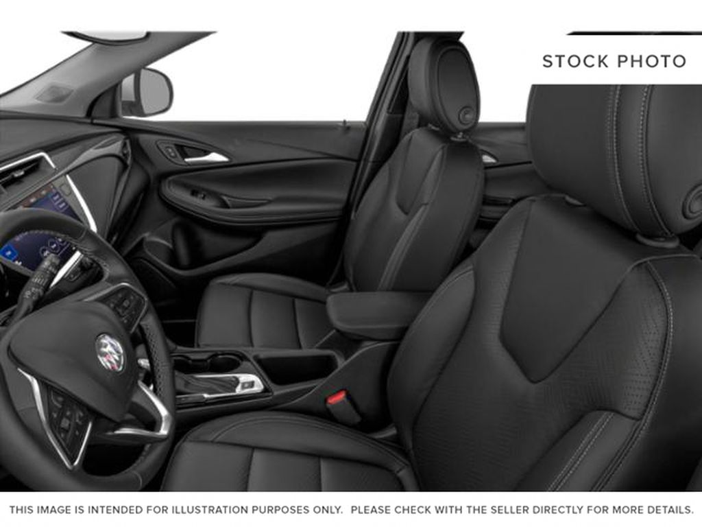 Black[Ebony Twilight Metallic] 2022 Buick Encore GX Left Front Interior Photo in Medicine Hat AB