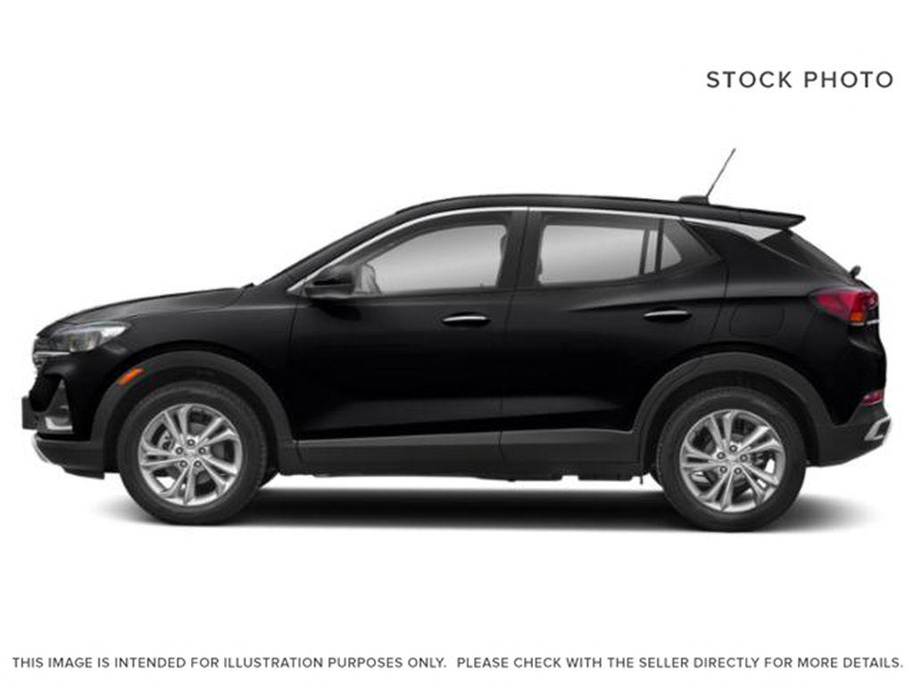 Black[Ebony Twilight Metallic] 2022 Buick Encore GX Left Side Photo in Medicine Hat AB