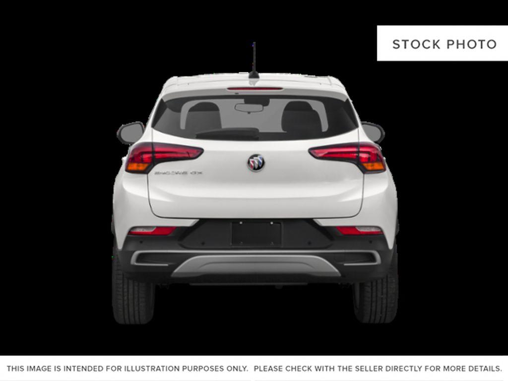 Black[Ebony Twilight Metallic] 2022 Buick Encore GX Rear of Vehicle Photo in Medicine Hat AB