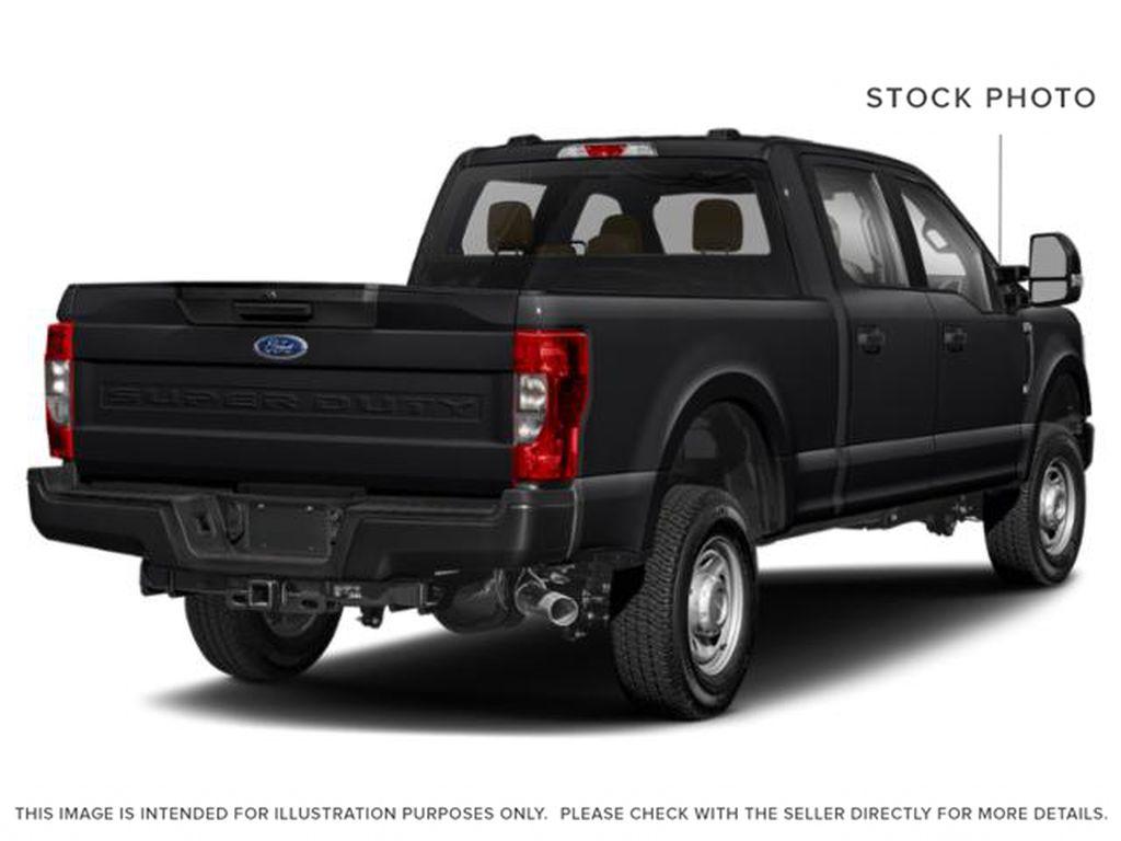 Black[Agate Black Metallic] 2020 Ford Super Duty F-350 SRW Right Rear Corner Photo in Fort Macleod AB