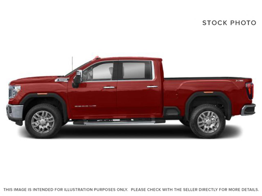 Red[Cardinal Red] 2021 GMC Sierra 3500HD Left Side Photo in Fort Macleod AB