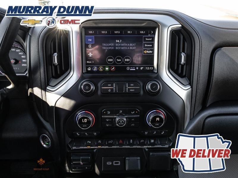 Black[Black] 2021 Chevrolet Silverado 1500 Central Dash Options Photo in Nipawin SK