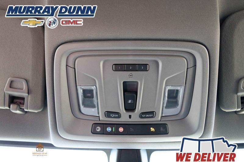 Black[Black] 2021 Chevrolet Silverado 1500 Roof Mounted Controls Photo in Nipawin SK
