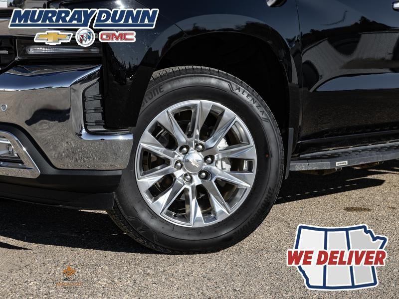 Black[Black] 2021 Chevrolet Silverado 1500 Left Front Rim and Tire Photo in Nipawin SK