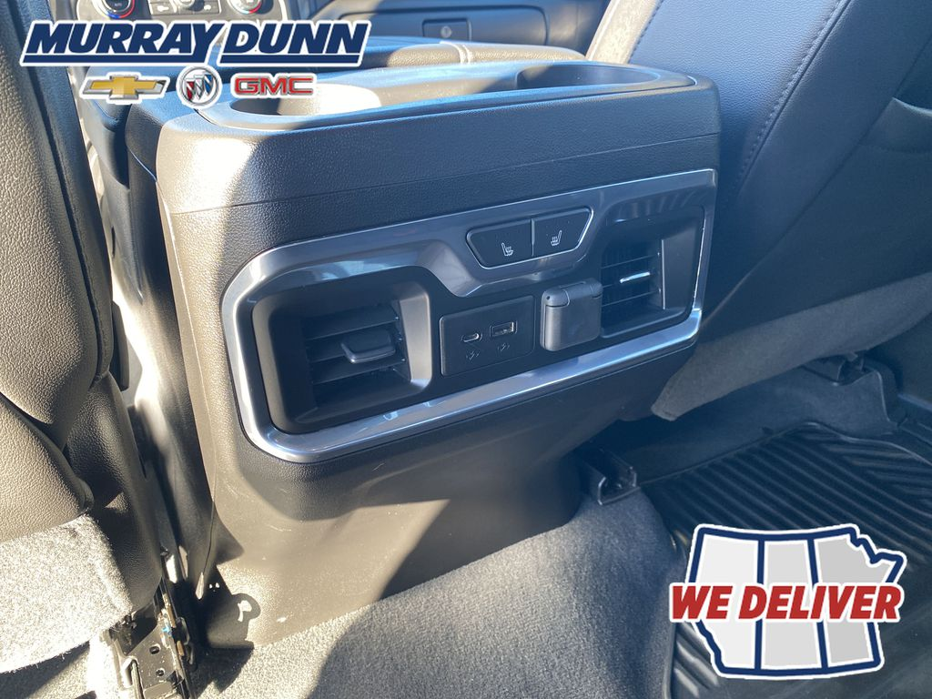 Black[Black] 2021 Chevrolet Silverado 1500 Rear Climate Controls Photo in Nipawin SK