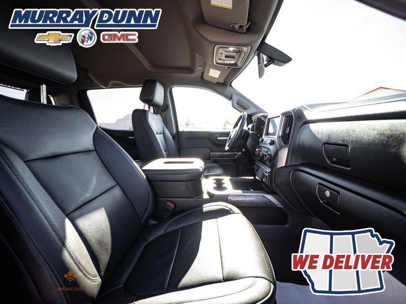 Black[Black] 2021 Chevrolet Silverado 1500 Front Right Interior Photo in Nipawin SK