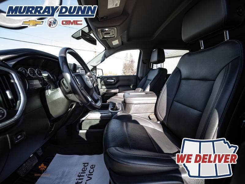 Black[Black] 2021 Chevrolet Silverado 1500 Left Front Interior Photo in Nipawin SK