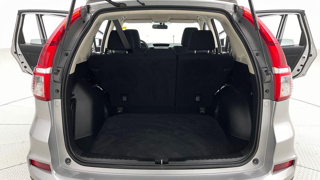 Silver[Alabaster Silver Metallic] 2015 Honda CR-V LX AWD - Backup Camera, Heated Seats Trunk / Cargo Area Photo in Winnipeg MB