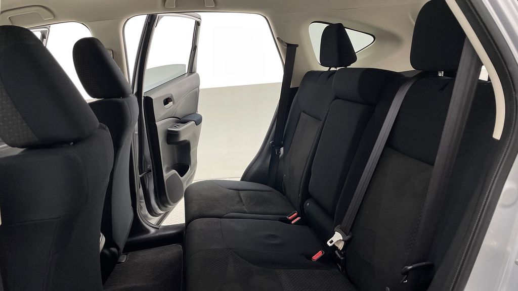 Silver[Alabaster Silver Metallic] 2015 Honda CR-V LX AWD - Backup Camera, Heated Seats Left Side Rear Seat  Photo in Winnipeg MB
