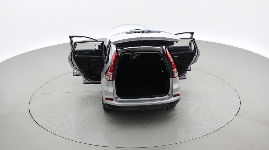 Silver[Alabaster Silver Metallic] 2015 Honda CR-V LX AWD - Backup Camera, Heated Seats Rear of Vehicle Photo in Winnipeg MB