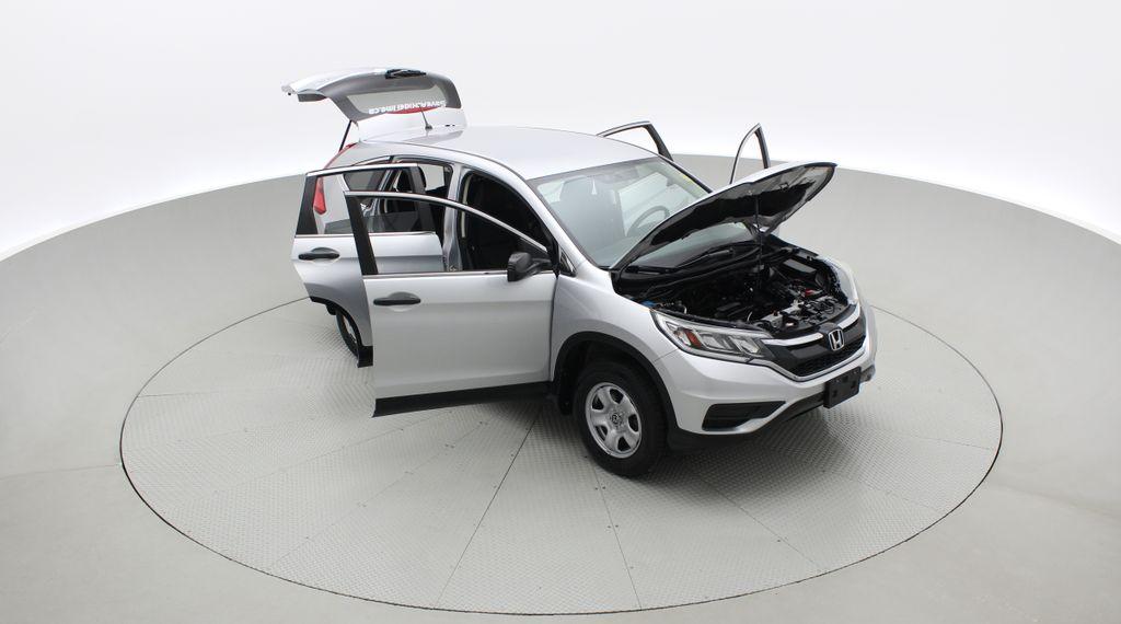 Silver[Alabaster Silver Metallic] 2015 Honda CR-V LX AWD - Backup Camera, Heated Seats Left Front Corner Photo in Winnipeg MB