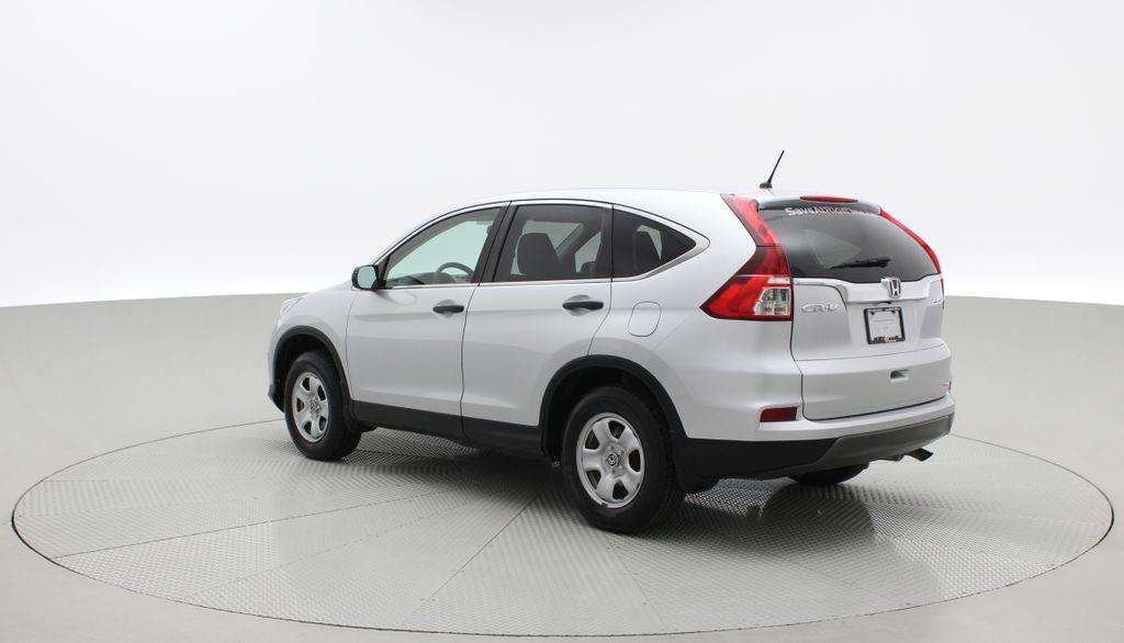 Silver[Alabaster Silver Metallic] 2015 Honda CR-V LX AWD - Backup Camera, Heated Seats Right  Rear Corner Photo in Winnipeg MB