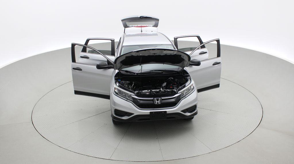 Silver[Alabaster Silver Metallic] 2015 Honda CR-V LX AWD - Backup Camera, Heated Seats Front Vehicle Photo in Winnipeg MB