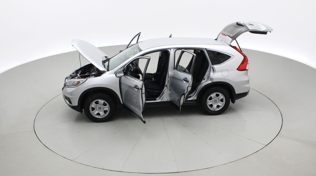 Silver[Alabaster Silver Metallic] 2015 Honda CR-V LX AWD - Backup Camera, Heated Seats Left Side Photo in Winnipeg MB