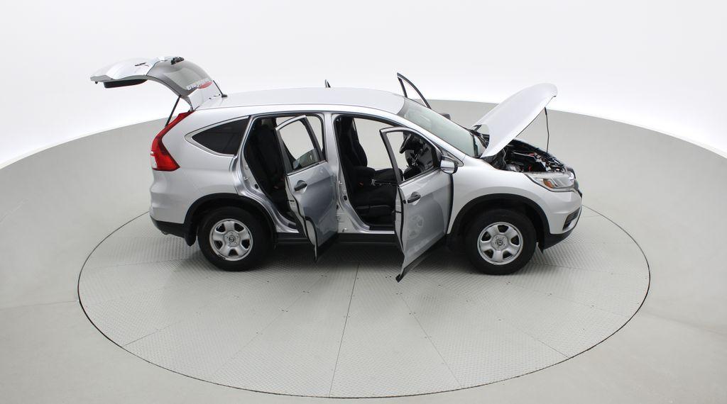 Silver[Alabaster Silver Metallic] 2015 Honda CR-V LX AWD - Backup Camera, Heated Seats Right Side Photo in Winnipeg MB