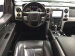 BLACK 2013 Ford F-150 CREWCAB 3.5L ECOBOOST / LEATHER SUNROOF Left Front Seat Photo in Sherwood Park AB