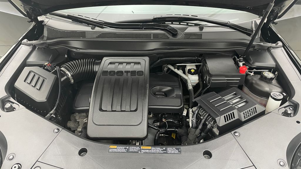 Black[Ebony Twilight Metallic] 2016 GMC Terrain SLE AWD - SUPER LOW KMS, Bluetooth, Backup Cam Engine Compartment Photo in Winnipeg MB