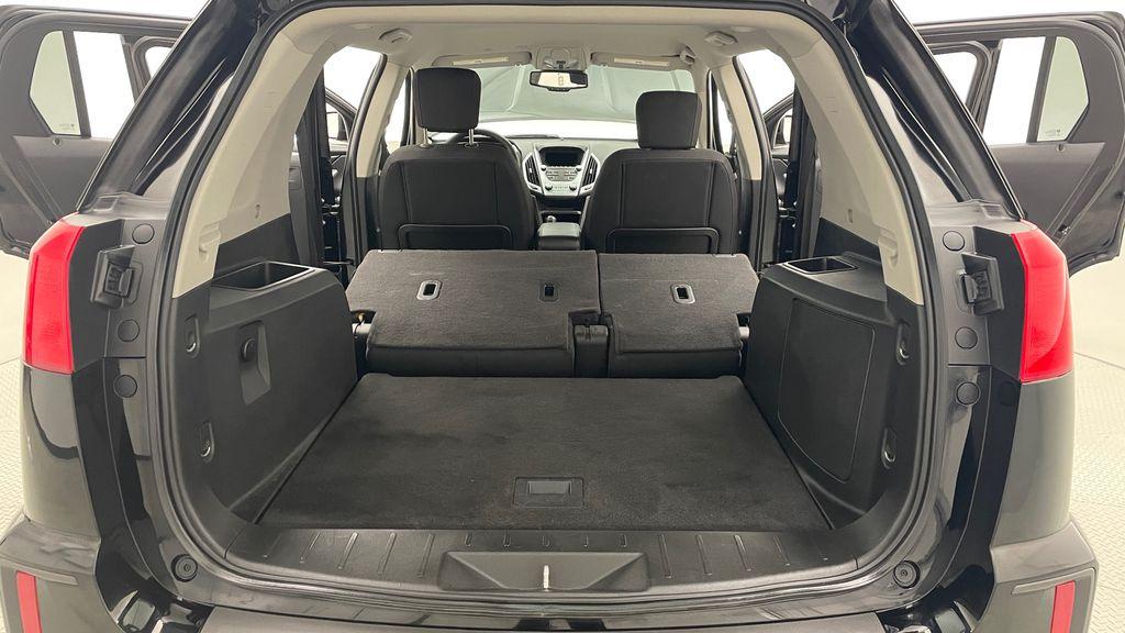 Black[Ebony Twilight Metallic] 2016 GMC Terrain SLE AWD - SUPER LOW KMS, Bluetooth, Backup Cam Rear Seat: Cargo/Storage Photo in Winnipeg MB