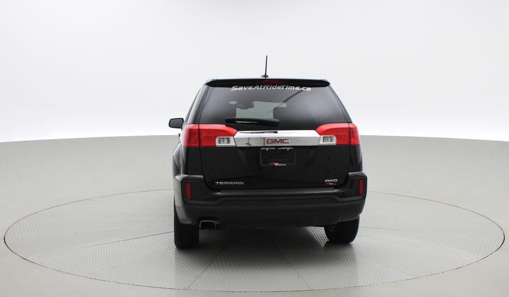 Black[Ebony Twilight Metallic] 2016 GMC Terrain SLE AWD - SUPER LOW KMS, Bluetooth, Backup Cam Rear of Vehicle Photo in Winnipeg MB