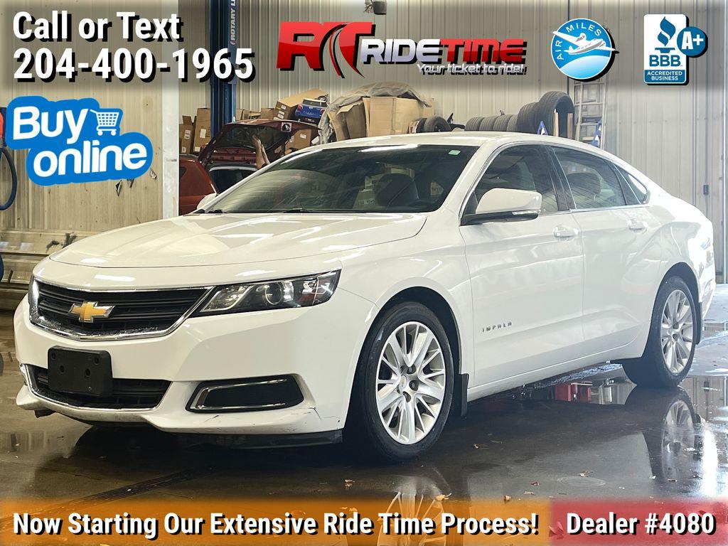 White[Summit White] 2014 Chevrolet Impala LS - Bluetooth, SiriusXM Radio, Power Driver Seat