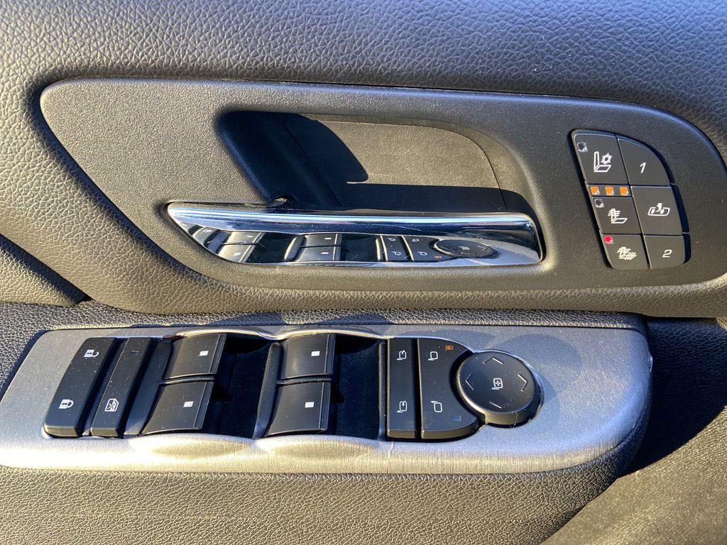 Black[Black] 2010 Chevrolet Avalanche LTZ  Driver's Side Door Controls Photo in Calgary AB