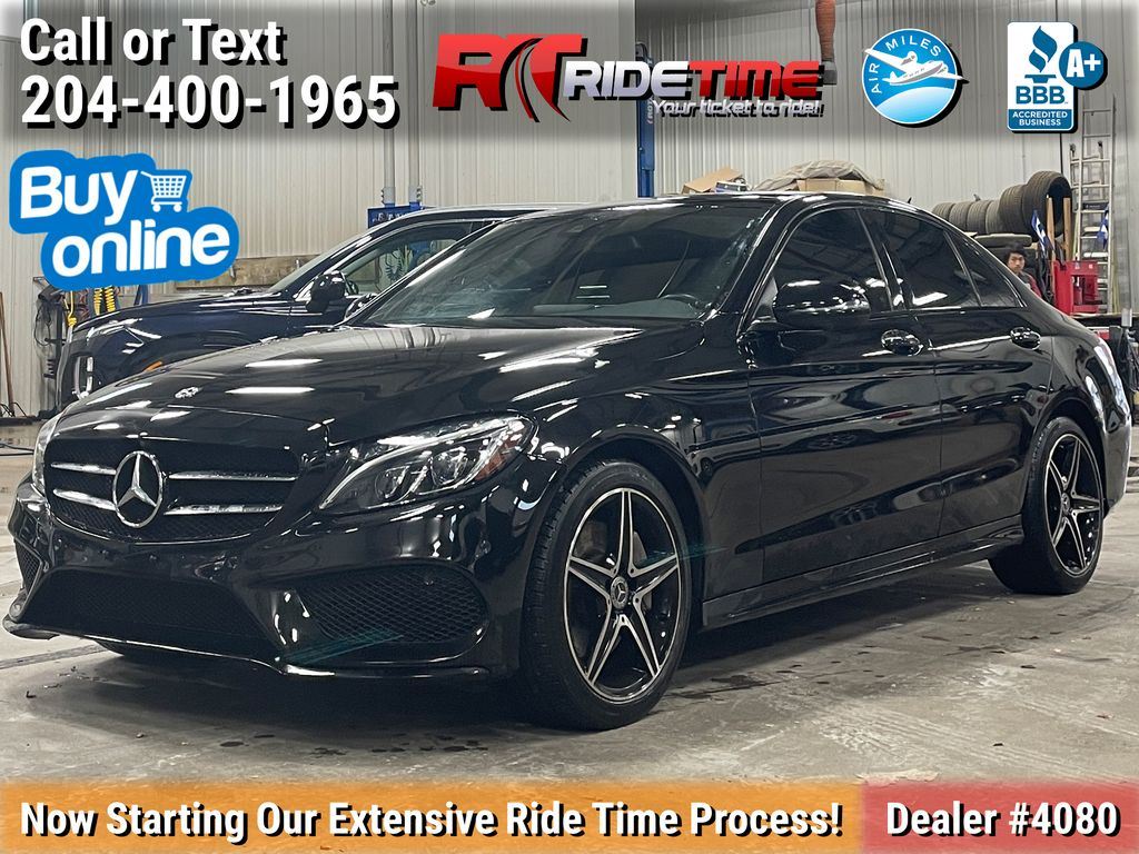 Black[Black] 2018 Mercedes-Benz C- Class C 300 4MATIC® - AMG Styling Package