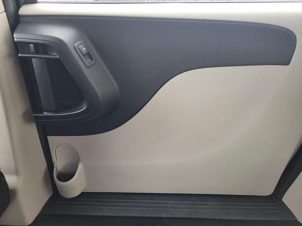 Blue[Jazz Blue Pearl] 2017 Dodge Grand Caravan Right Rear Interior Door Panel Photo in Kelowna BC