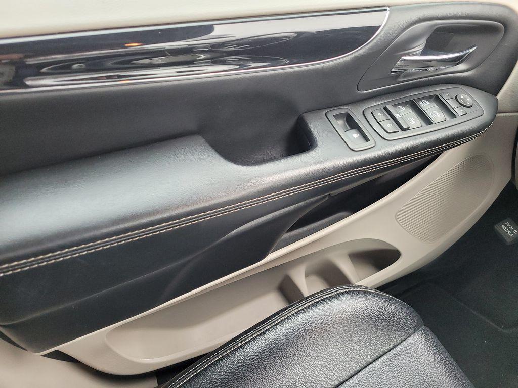 Blue[Jazz Blue Pearl] 2017 Dodge Grand Caravan Left Front Interior Door Panel Photo in Kelowna BC