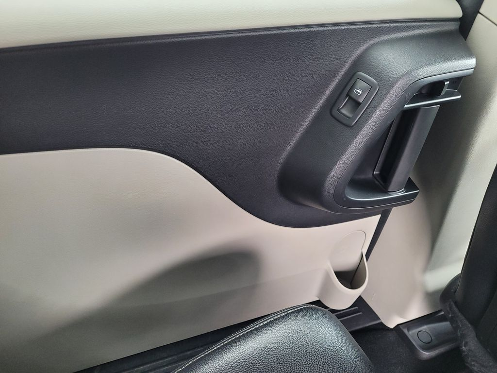 Blue[Jazz Blue Pearl] 2017 Dodge Grand Caravan Left Rear Interior Door Panel Photo in Kelowna BC