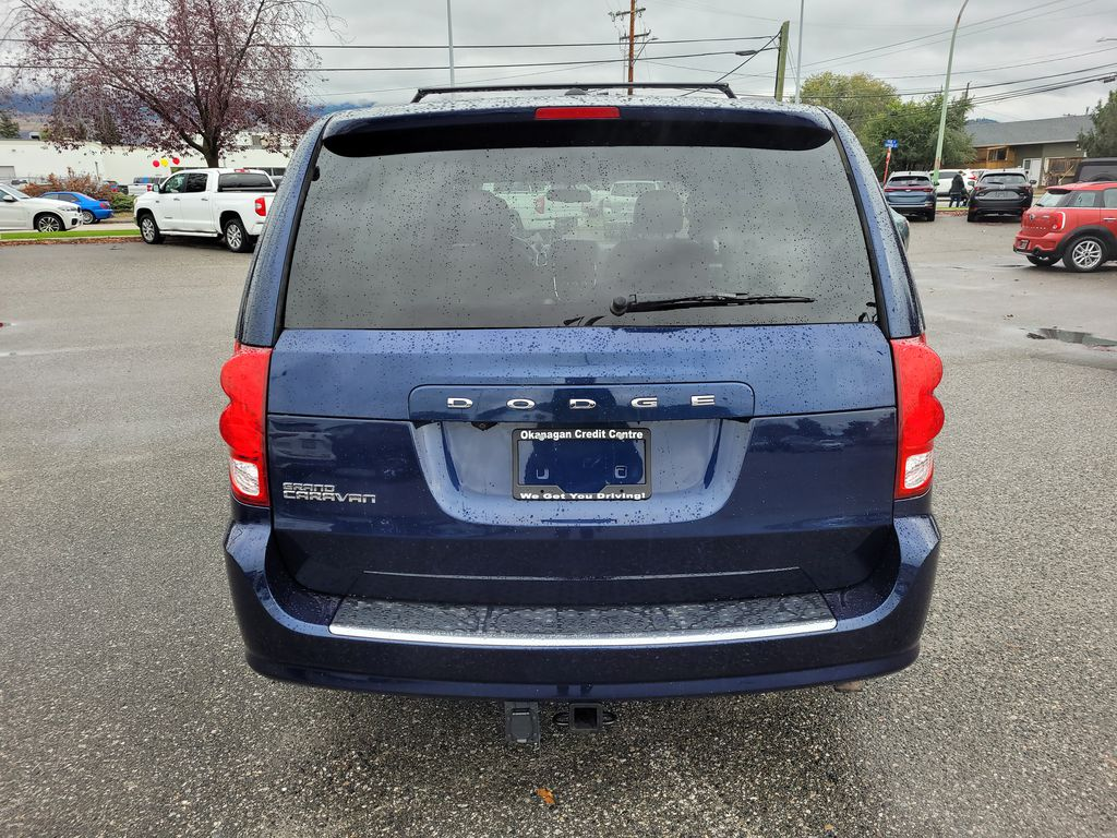 Blue[Jazz Blue Pearl] 2017 Dodge Grand Caravan Rear of Vehicle Photo in Kelowna BC