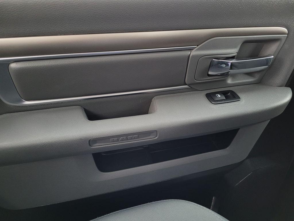 Black[Brilliant Black Crystal Pearl] 2018 Dodge Ram 1500 Bighorn 4WD Left Rear Interior Door Panel Photo in Kelowna BC