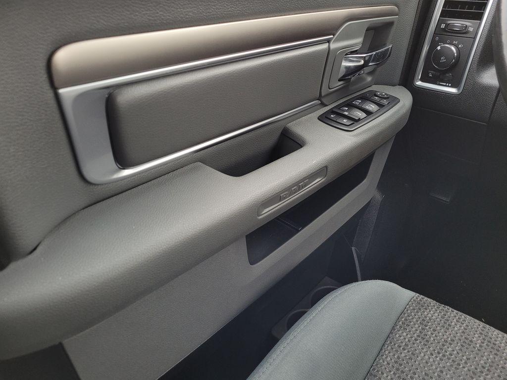 Black[Brilliant Black Crystal Pearl] 2018 Dodge Ram 1500 Bighorn 4WD Left Front Interior Door Panel Photo in Kelowna BC