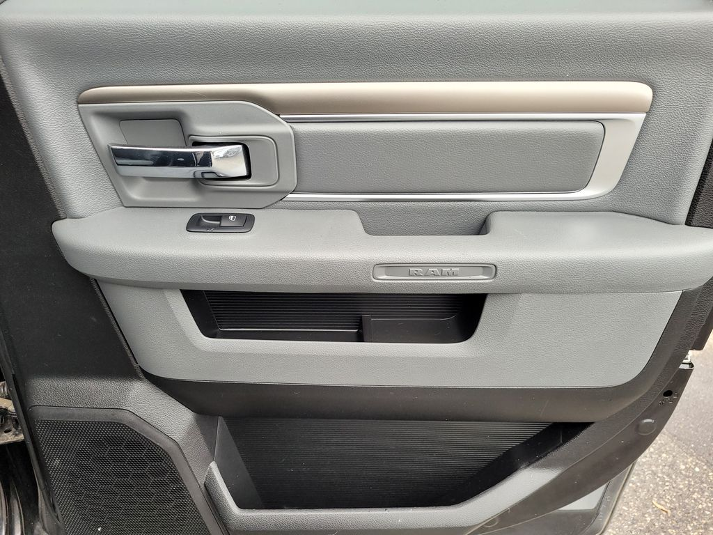 Black[Brilliant Black Crystal Pearl] 2018 Dodge Ram 1500 Bighorn 4WD Right Rear Interior Door Panel Photo in Kelowna BC