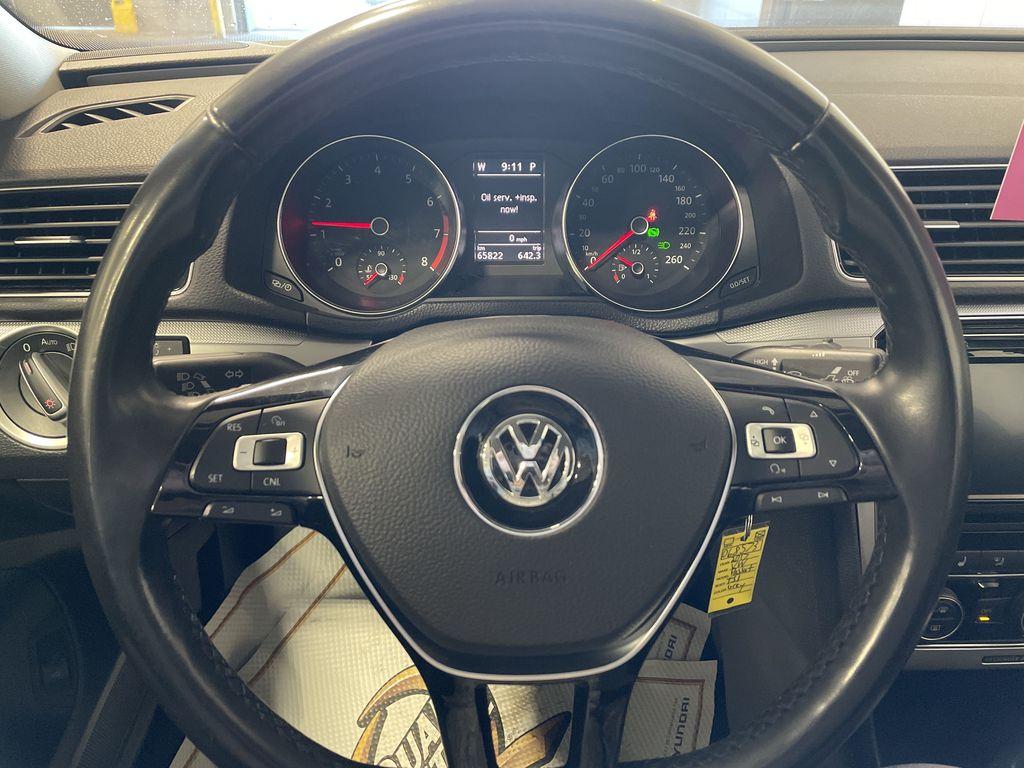 White[Pure White] 2017 Volkswagen Passat Front Vehicle Photo in Belleville ON