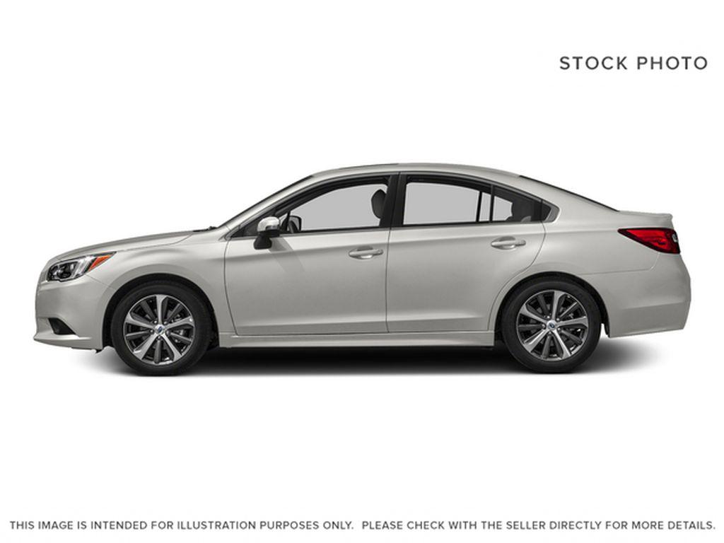 White[Crystal White Pearl] 2015 Subaru Legacy Left Side Photo in Lethbridge AB
