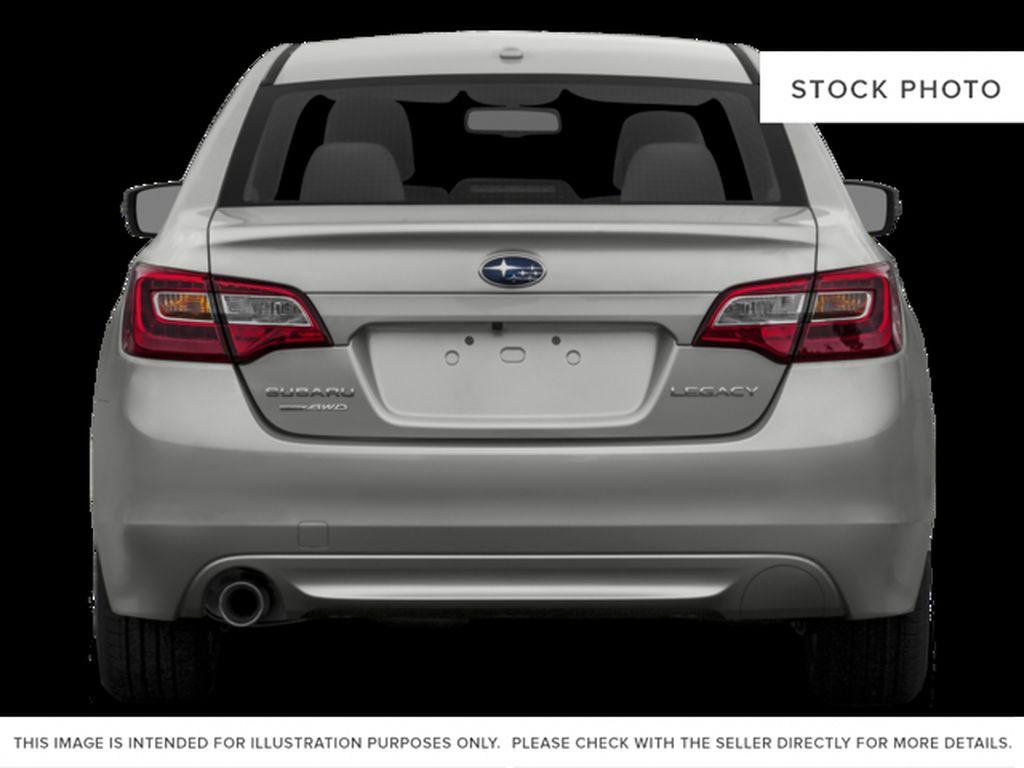 White[Crystal White Pearl] 2015 Subaru Legacy Rear of Vehicle Photo in Lethbridge AB