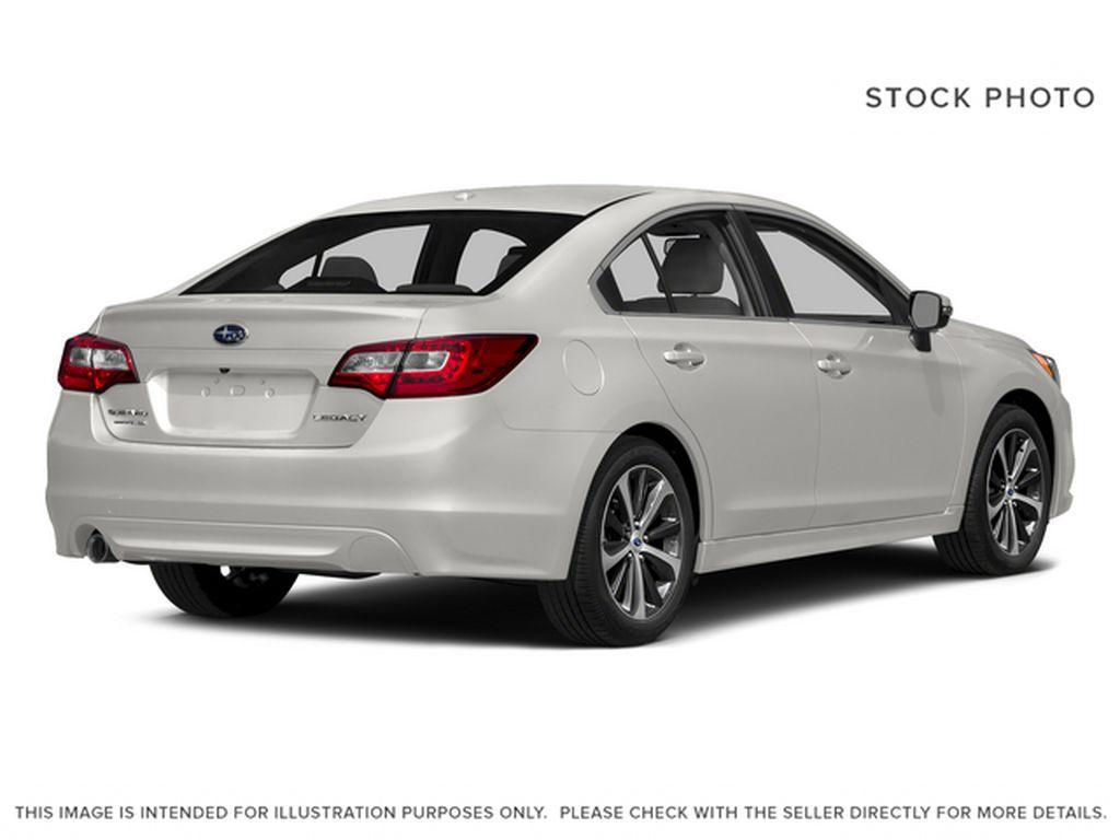 White[Crystal White Pearl] 2015 Subaru Legacy Right Rear Corner Photo in Lethbridge AB